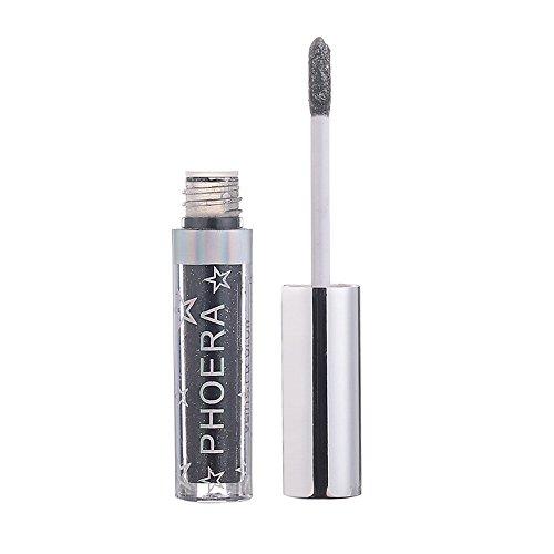 CCatyam Eyeshadow Palette Makeup, Metal Glitter Liquid Waterproof Highly Pigmented Professional Cosmetic Eye Shadows