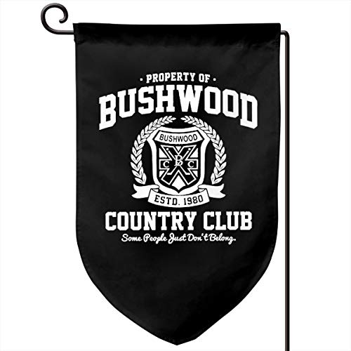 Foxdinner Property of Bushwood Country Club Home Decoration Garden Flag 12.5 * 18 in (Double Side) Match Flag