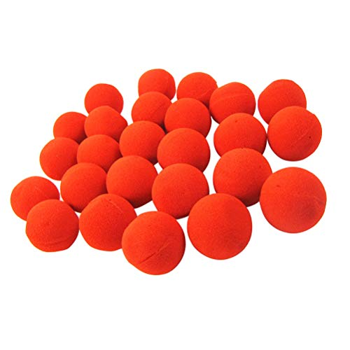 36pcs Clown Nose Foam Circus Comic Nose Mask Party Supplies Halloween Accessories Costume Dress Party Supplies -