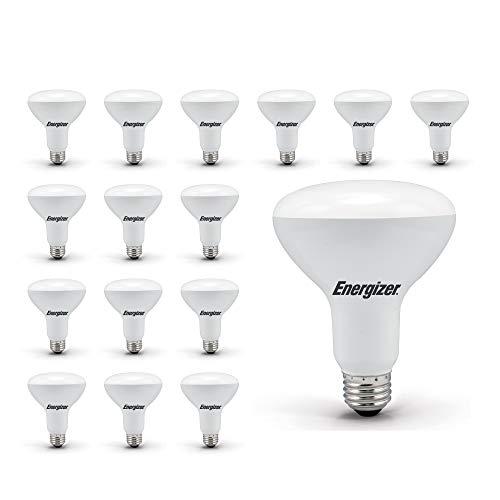 Energizer Light Bulbs BR30 65 Watt Equivalent Energy Star LED Light Bulb, 16-Pack, Daylight (Dimmable)