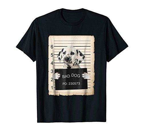 (Dalmatian Dog mug shot Shirt )