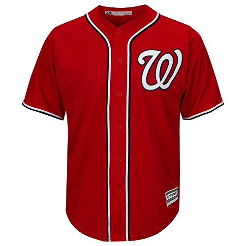 Washington Nationals Alternate Red Cool Base Jersey
