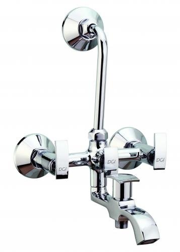 DCI Wall Mixer 3 in 1 Water Faucet Bathroom Tap (Diameter: 1.5 cm ...