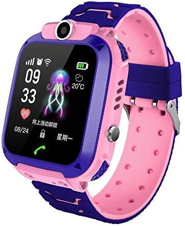 Reloj inteligente con GPS para niños, reloj de pulsera antipérdida, pantalla táctil de 1,44 pulgadas, resistente al agua, para niños, niñas, regalo de cumpleaños