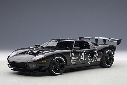 Ford GT LM Spec II Test Car, Black - Auto Art 80514 - 1/18 Scale Collectible Diecast Replica - Gt Spec Trunk
