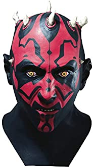 Star Wars Darth Maul Adult Latex Mask,Black,One Size