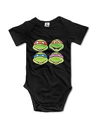 Teenage Mutant Ninja Turtles Unisex Boys Girls Baby Bodysuit Onesies 100% Cotton