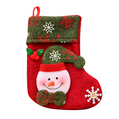 Christmas OrnamentsChristmas Bags Kids Candy Bags Cute Stocking Gift Box Xmas Tree Hanging Decoration