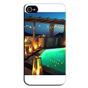 Slim Fit Protector For Iphone 4 Case Cover White RO9Zs4