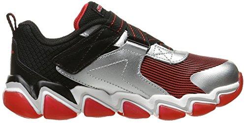 Red Black Silver Rush Z Air 3 Kids Skechers Kid Kid Down Big Boys Sneaker 0 Skech Little Strap qKfSpHT