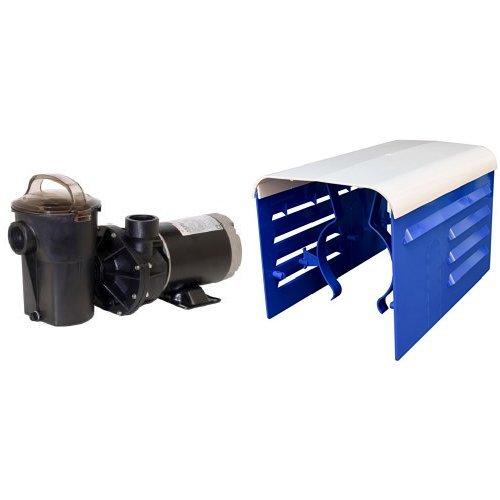 Power Flo Lx Series (Hayward SP1580 Power-Flo LX Series 1-Horsepower Pool Pump with Cord Bundle (Pump + Cover))