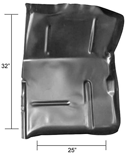 1975 Chevy Truck Parts (Front Cab Floor Half - Drop In - LH - 73-87 Chevy GMC Truck; 73-91 Blazer Jimmy Suburban)