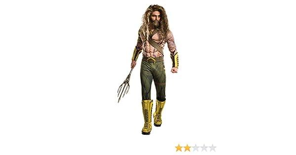 Aquaman Deluxe Herrenkostüm: Amazon.es: Juguetes y juegos
