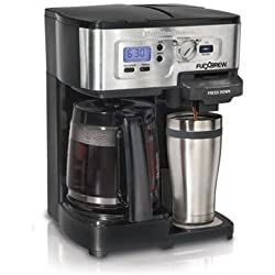 Hamilton Beach 49983 2-Way FlexBrew Coffeemaker (Certified Refurbished)