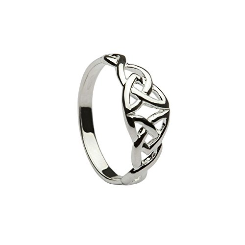 Double Trinity Knot - Celtic Desings Double Trinity Knot Ring