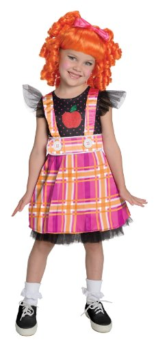 [Lalaloopsy Deluxe Bea Spells-A-Lot Costume, Small] (Lalaloopsy Costumes For Girls)
