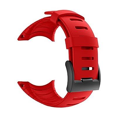 PATROHOO Suunto Core Strap, Rubber Replacement Watch Band for Suunto Core SS014993000.