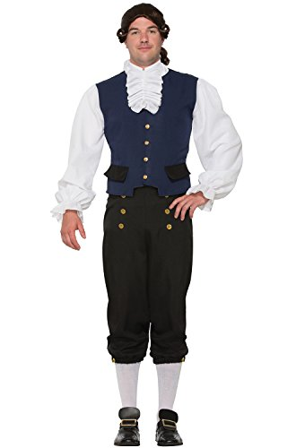 British Alexander Goodman Costume Colonial Mens Naturalist Historical Std (Colonial Costumes For Men)