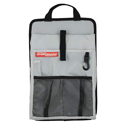 Overboard Laptop Tidy Dry Bag, Black/Gray