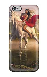 TGVyqyx2658DSRVr Case Cover Protector For Iphone 6 Plus Unicorn Case by icecream design