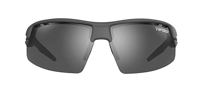 f4523a05908 Amazon.com  Tifosi Crit Polarized Fototec Matte Gunmetal - Smoke Polarized  Fototec  Sports   Outdoors