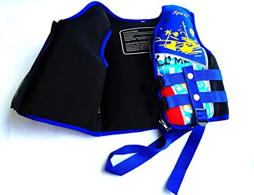 Titop Buoyancy Aid for Child Infant Swimming Trainer Vest for Baby Color Blue Small 20-45 lbs for 0-4 Years