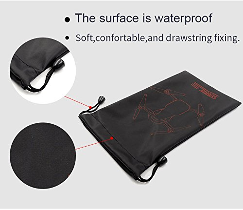 STARTRC Portable Storage Bag Pouch for Mavic Air Drone Body Bag and Motor  Blade Fixed Holder Protector Black