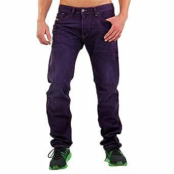 Diesel - Vaquero - para hombre púrpura oscuro 29W x 32L