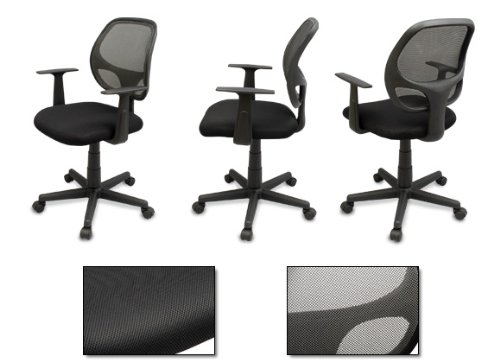 The ''Distrikt'' Computer Task Mesh Ergonomic Office Chair (Grey)