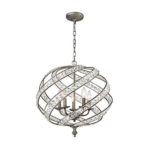 ELK Lighting 16253/5 Chandelier, One Size, Gray ()