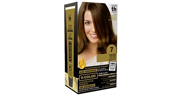 Thader Th Pharma V Color Kit Tinte Nº 7 Sin Amoniaco Con Oro Líquido