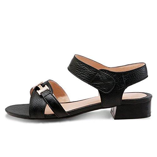 Adee , Sandales pour femme - Noir - noir, 38 EU