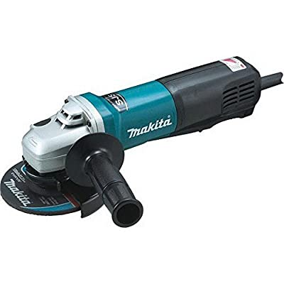 Makita 9565PCV SJS High Power Paddle Switch Angle Grinder, 5""