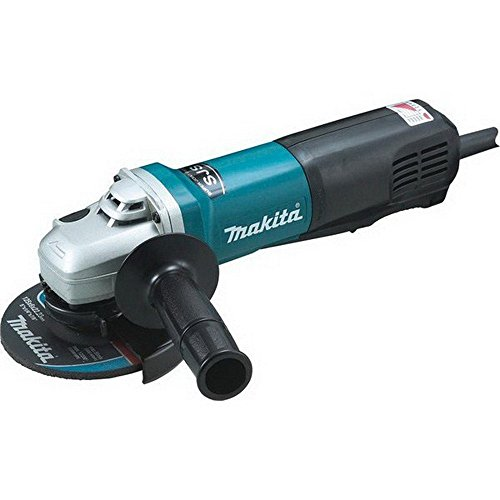 Makita 9565PCV SJS High Power Paddle Switch Angle Grinder, 5 inch