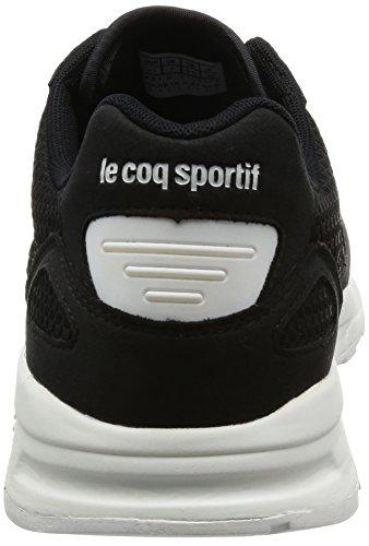 Le Coq Sportif Lcs R900 Woven Jacquard, Zapatillas Unisex Adulto Negro (Black/Optical White)