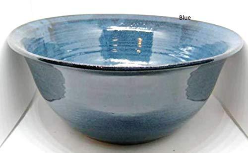- Handmade pottery Medium serving bowl for veggies, salads, holds 2 quarts