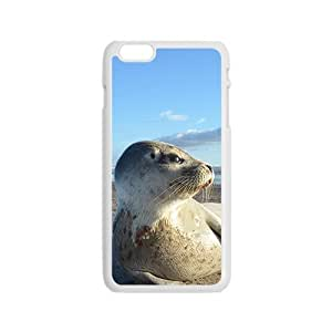 Cute Sea Lion Hight Quality Plastic Case for Iphone 6