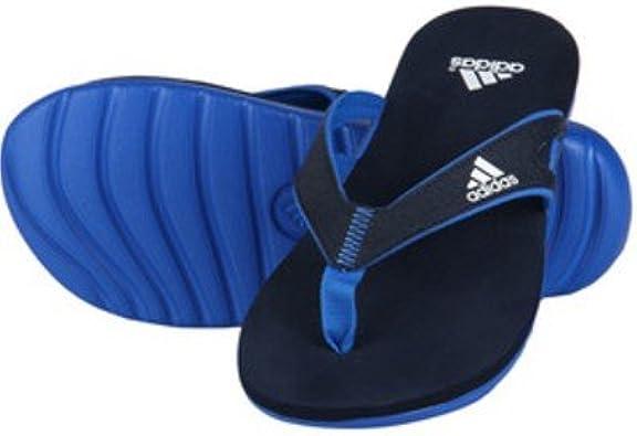 Persona Opuesto Facilitar  Adidas Calo Tongs pour homme 5 m, Noir (bleu), 43 EU: Amazon.fr: Chaussures  et Sacs