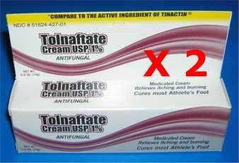Anti-fungal Cream, Tolnaftate 1% , .5 Oz.