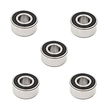 17x40x17.5 mm 5203 2RS Double Row Sealed Angular Contact Ball Bearing