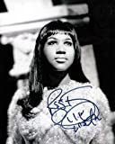 #7: ARETHA FRANKLIN 8x10 Music Photo Signed In-Person