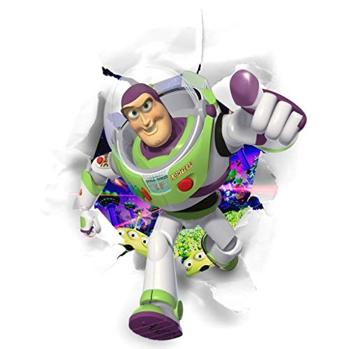 - Toy Story Buzz Lightyear Space Ranger Edible Cake Topper Image ABPID08447 - 1/2 sheet