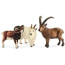 Schleich Wild Life Mountain Animals, Goat, Ibex, Animals, Figure, Action