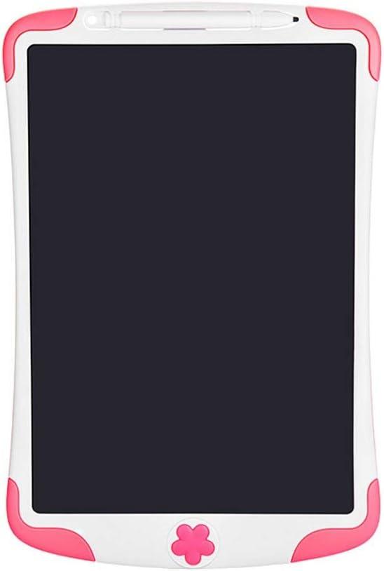 多機能液晶手書きボード 8.5インチの子供のLCD電子手書きタブレット早期教育ライティング描画タブレット超薄型ポータブルインテリジェント手書きペーパーレス 家庭やビジネスに適しています (色 : ピンク, Size : 8.5 inches)