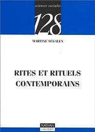 Rites et rituels contemporaines par Martine Segalen