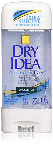 Dry Idea Advanced Dry Unscented Antiperspirant and Deodorant Clear Gel, 3 oz. (Deodorant Dry)
