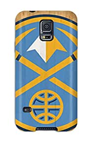 New Arrival NKWfSgb1172XBQwt Premium Galaxy S5 Case(denver Nuggets Nba Basketball (9) )