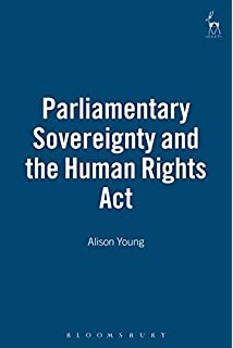 parliamentary sovereignty in the uk constitution hart studies in  parliamentary sovereignty and the human rights act