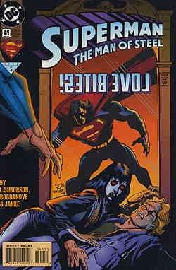 Superman: The Man of Steel #41 VF/NM ; DC comic book ()