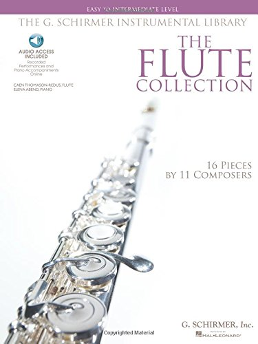 The Flute Collection - Easy to Intermediate Level: Schirmer Instrumental Library for Flute & Piano (G. Schirmer Instrumental Library)